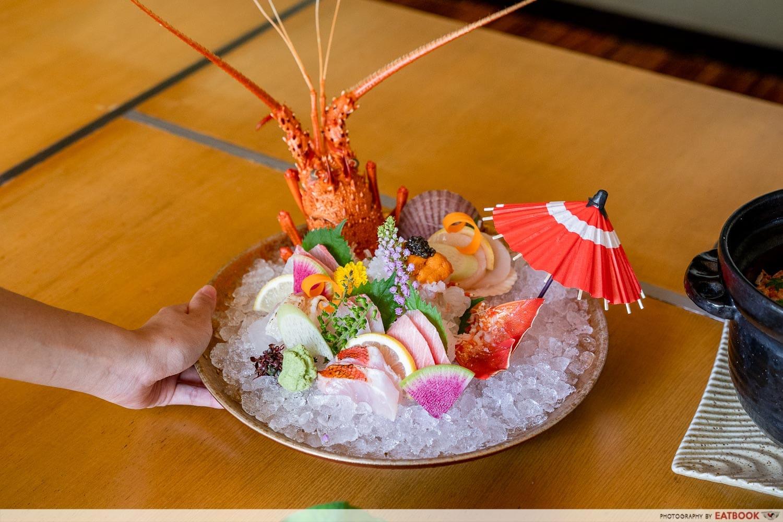 citi gourmet pleasures - keyaki assorted sashimi