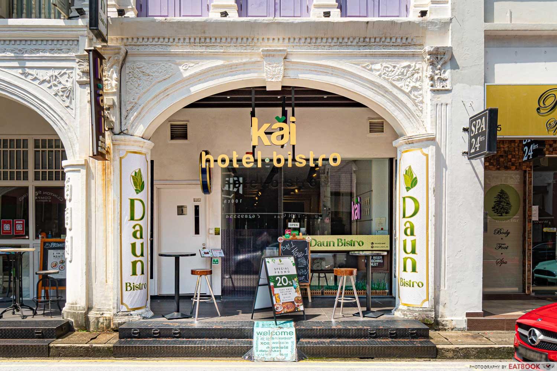 daun bistro - storefront