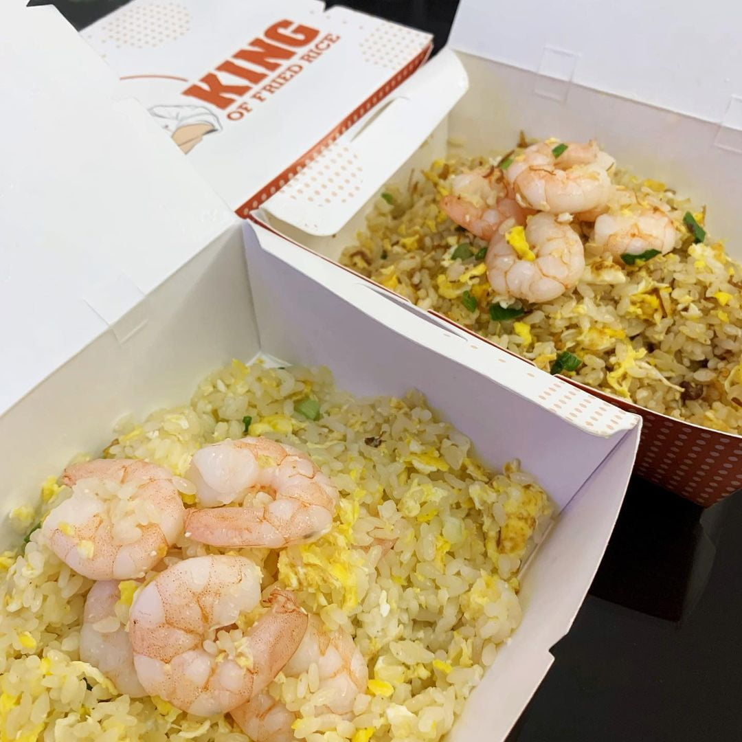 King Of Fried Rice Egg Fried Rice With Prawn