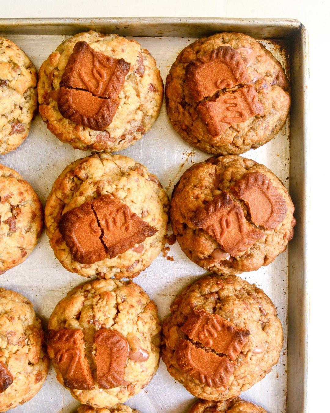 for fudge sake - biscoff cookies