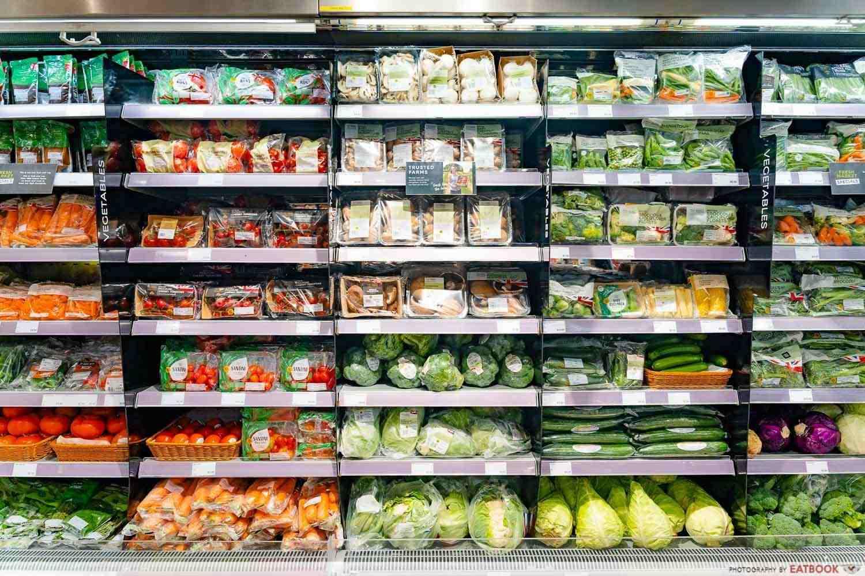 marks and spencer fresh produce vegetables