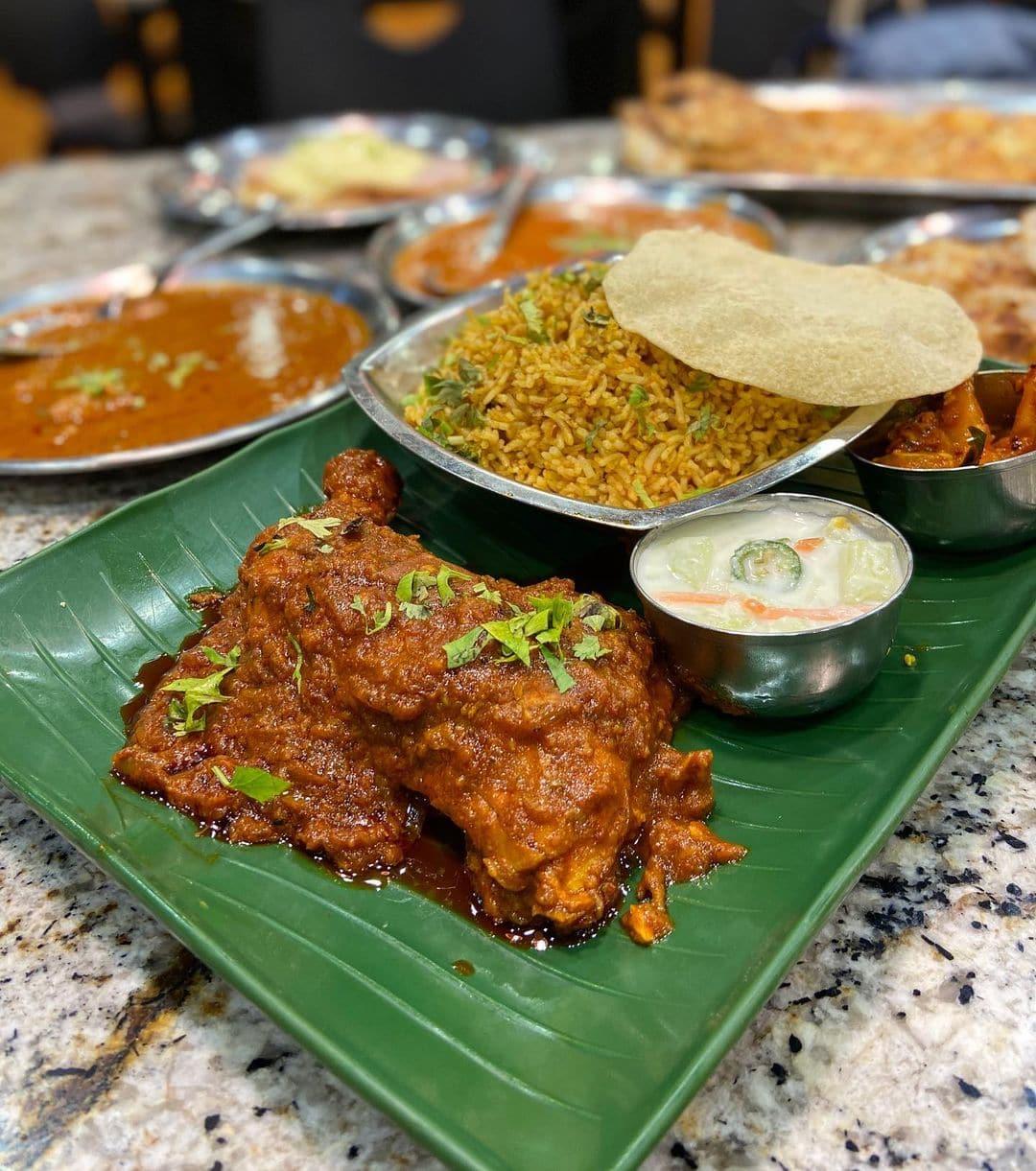 briyani at casuarina curry