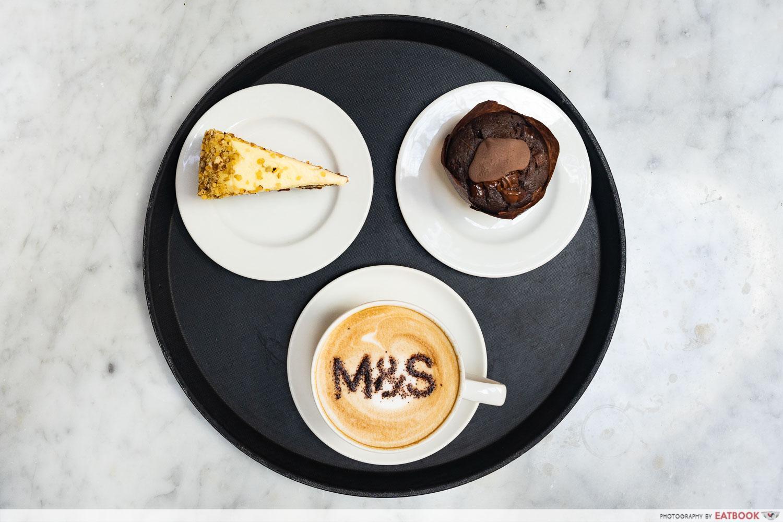 m&s cafe wheelock coffee