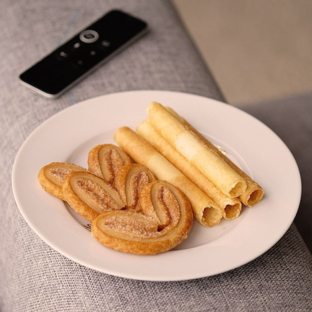 kee wah - palmier egg roll