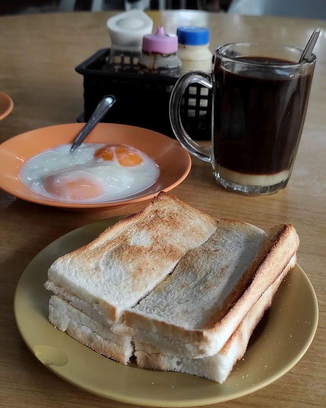 breakfast kaya toast
