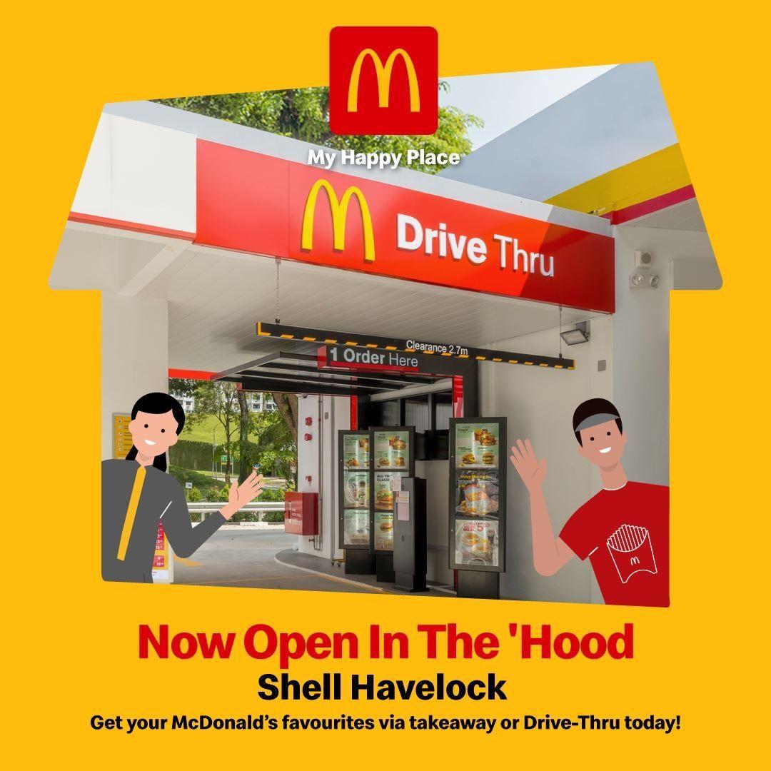 Drive Thru McDonald Havelock