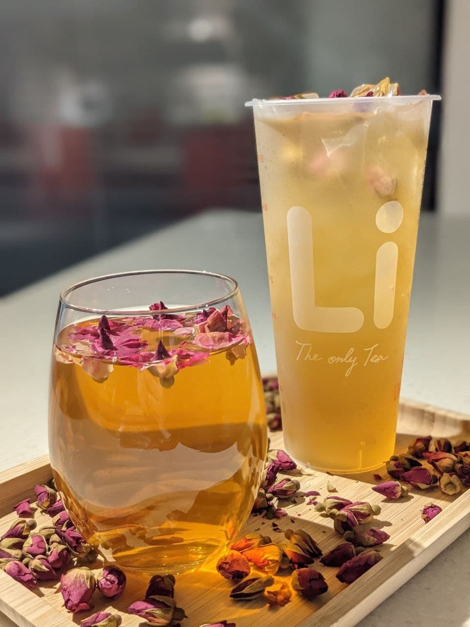 liho Orange Peel Rose White Tea