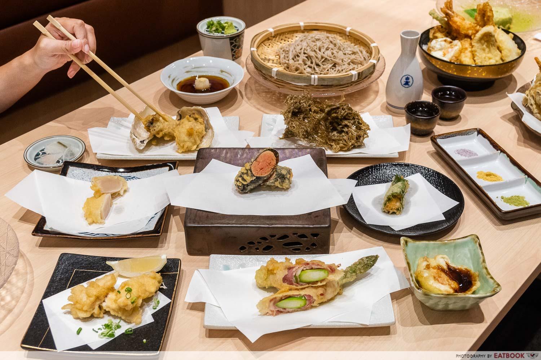 tempura makino - a la carte