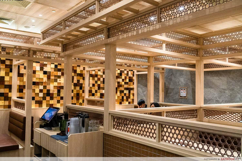 tempura makino - interior