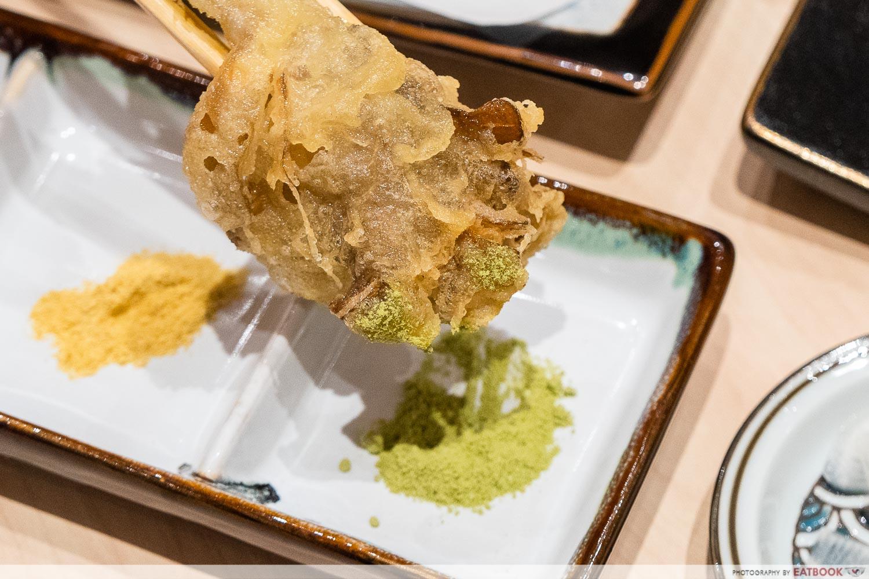 tempura makino - maitake