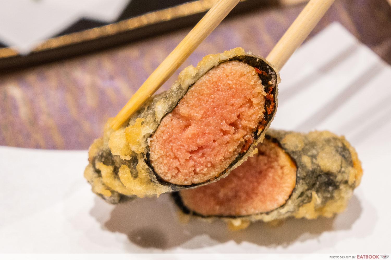 tempura makino - mentai seaweed