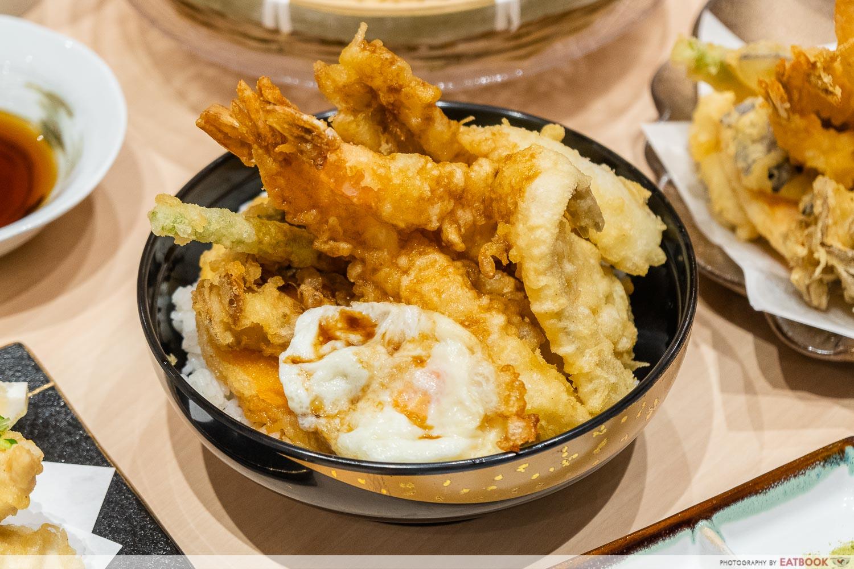 tempura makino - tendon