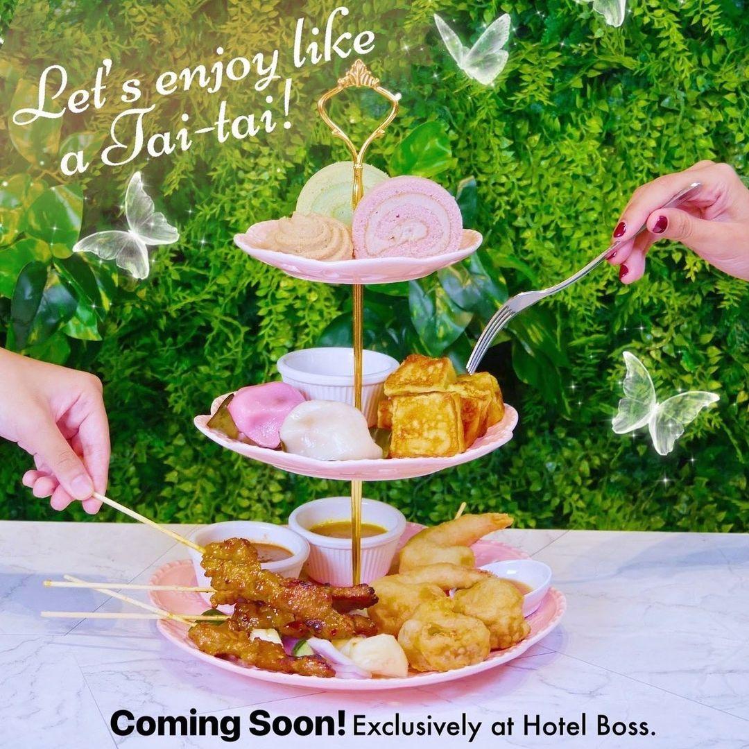 the hainan story - hainanese tea set