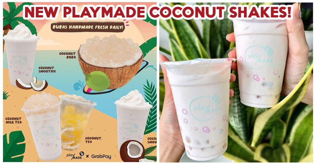 NEW PLAYMADE COCONUT SHAKES