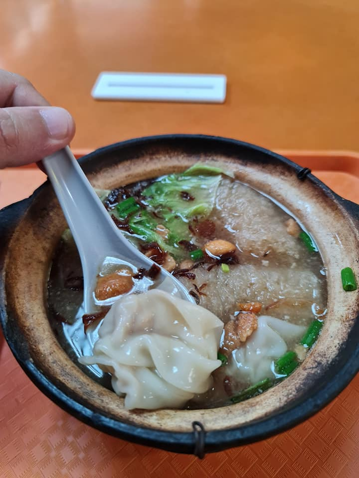 ah gong minced meat noodles