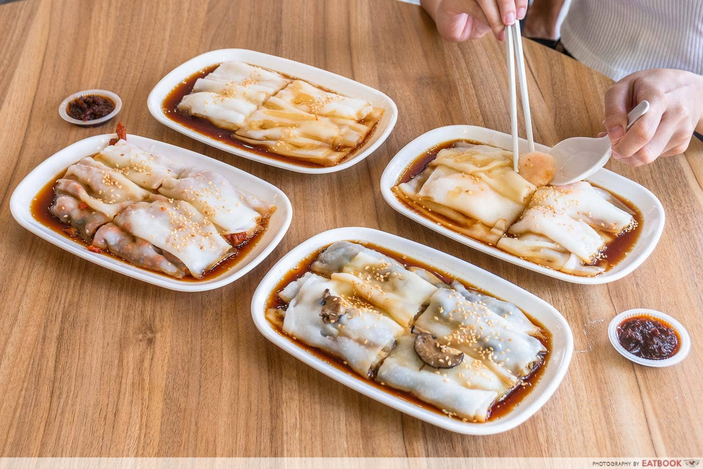chef wei HK cheong fan - flatlay