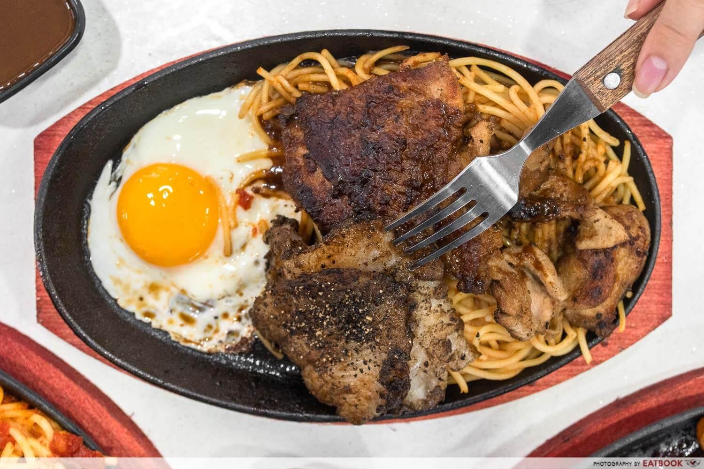 chicken hotplate