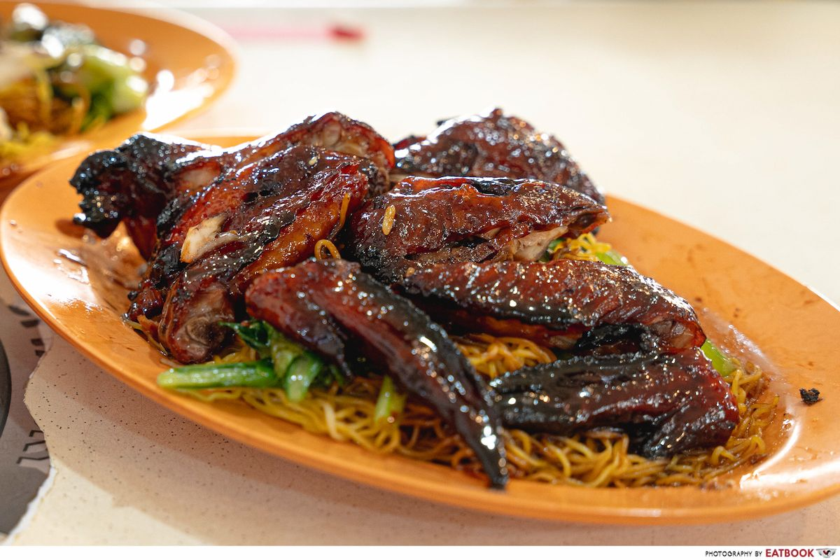 incredible roasted meat chicken wing noodle intro