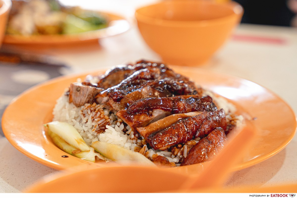 incredible roasted meat roasted duck rice intro