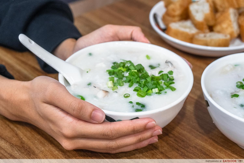 old shifu charcoal porridge - intro