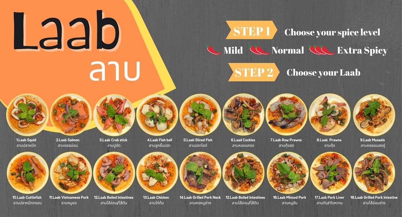 yummy yum by ta-lad laab thai food